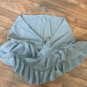 Anthro shawl